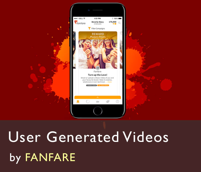 fanfare company-user generated videos