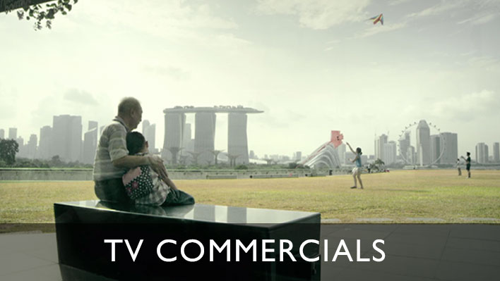 TV commercials from our video productions