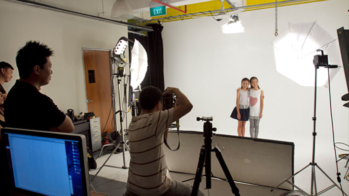 video production and photography studio in Upside Down Concepts