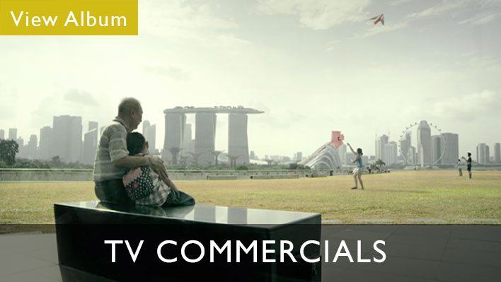 TV commercials album from our video production