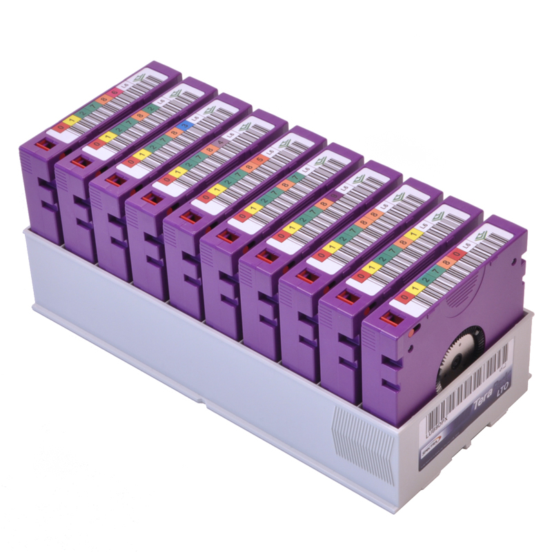LTO tapes for video archival
