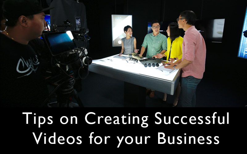tips on creating a successful marketing video
