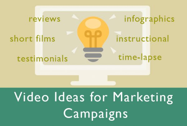 video ideas for marketing campaigns