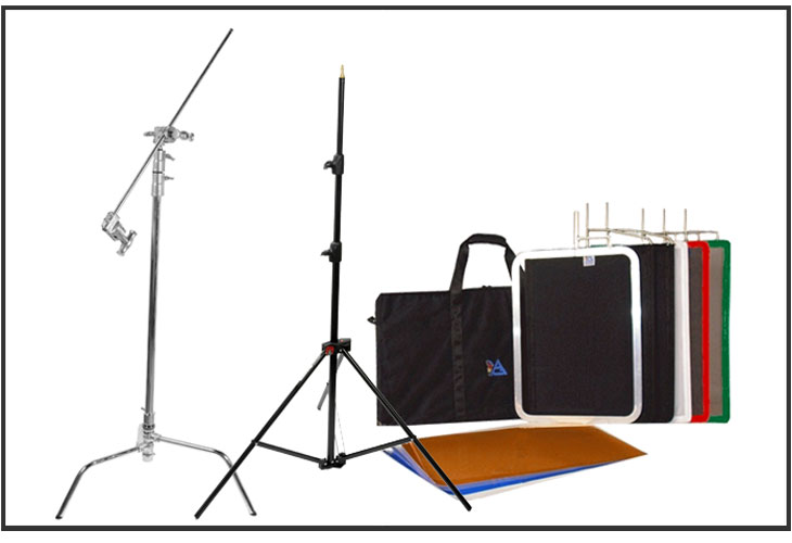Lighting & studio support equipment